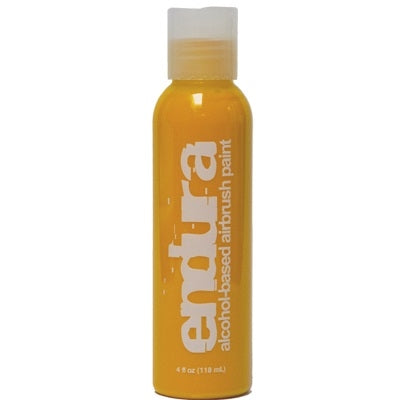 Endura Alcohol-Based Airbrush Body Paint - Yellow - 4oz - Jest Paint Store