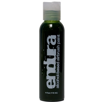Endura Alcohol-Based Airbrush Body Paint - Green - 4oz - Jest Paint Store