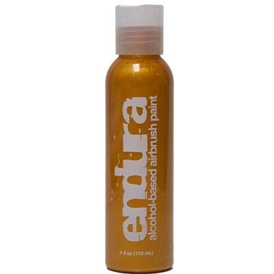 Endura Alcohol-Based Airbrush Body Paint - Metallic Gold - 4oz - Jest Paint Store