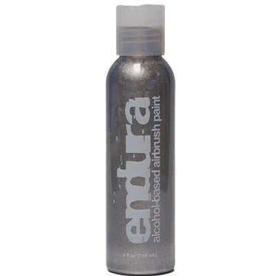 Endura Alcohol-Based Airbrush Body Paint - Metallic Silver - 4oz - Jest Paint Store