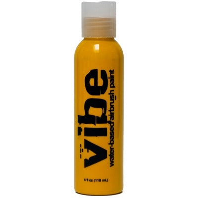 VIBE Water Based Airbrush Body Paint - Standard Yellow - 4oz - Jest Paint Store