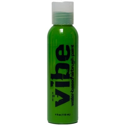 VIBE Water Based Airbrush Body Paint - Standard Green - 4oz - Jest Paint Store