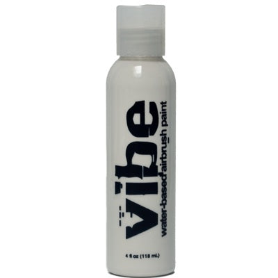 VIBE Water Based Airbrush Body Paint - Standard White - 4oz - Jest Paint Store