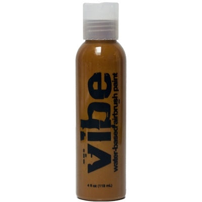 VIBE Water Based Airbrush Body Paint - Standard Brown - 4oz - Jest Paint Store