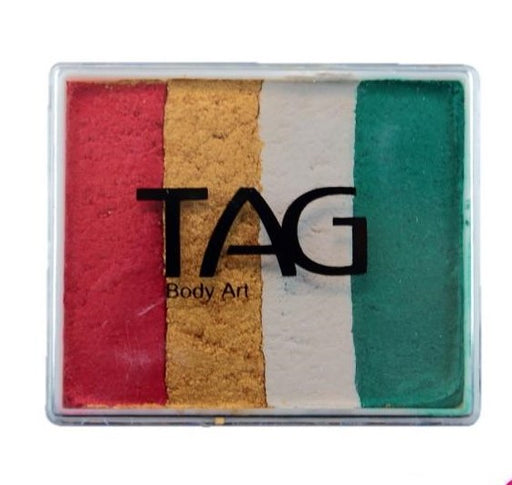 TAG Face Paint  Split Cake - EXCL Christmas Sparkle 50gr  #36 - Jest Paint Store
