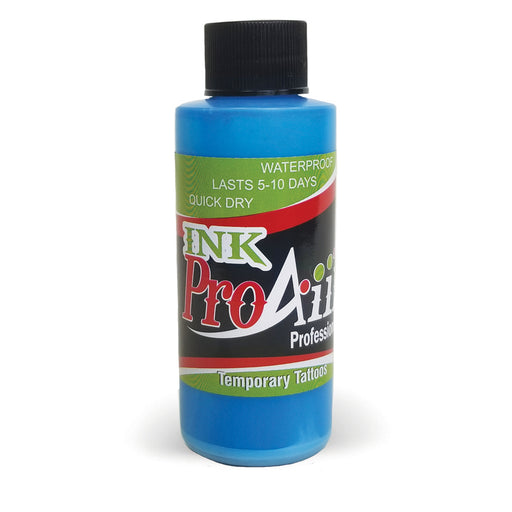 ProAiir INK Alcohol-Based Airbrush Body Paint 2oz - Electric Blue