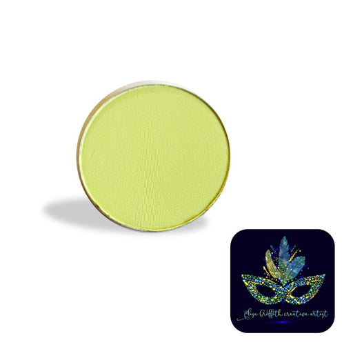 Color Me Pro Face Painting Powder by Elisa Griffith | Matte Limeade Light Green (3.5 gr)