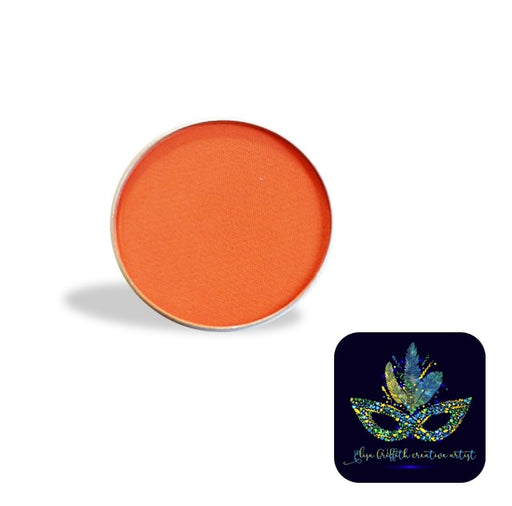 Color Me Pro Face Painting Powder by Elisa Griffith | Matte Aranciata Orange (3.5 gr)