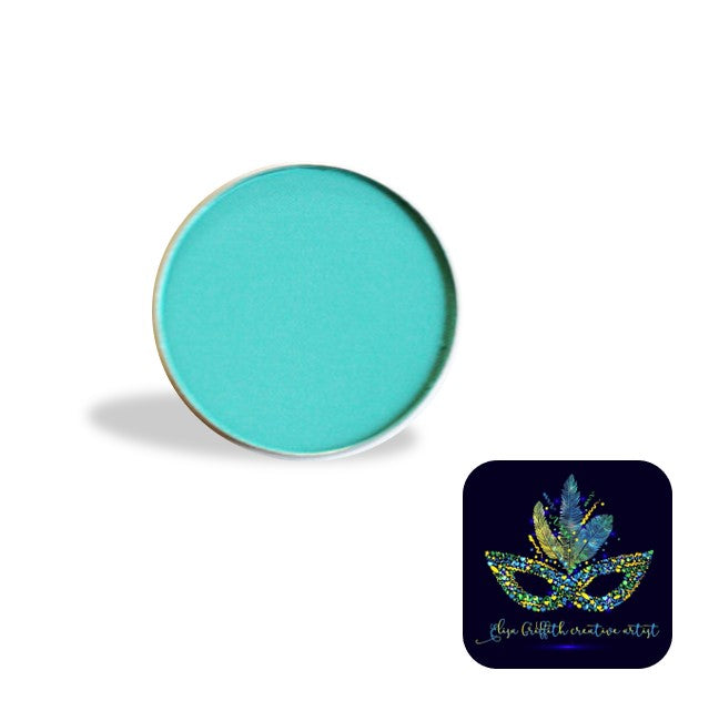 Color Me Pro Face Painting Powder by Elisa Griffith | Matte Aqua Turquoise (3.5 gr)