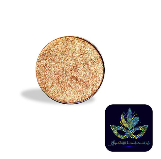 Color Me Pro Face Painting Powder by Elisa Griffith | Metallic Copper Bling (3.5 gr)