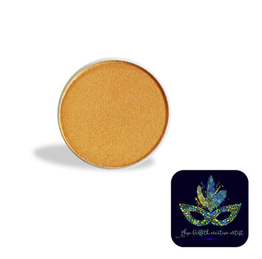 Color Me Pro Face Painting Powder by Elisa Griffith | Shimmer Treasure Gold (3.5 gr)
