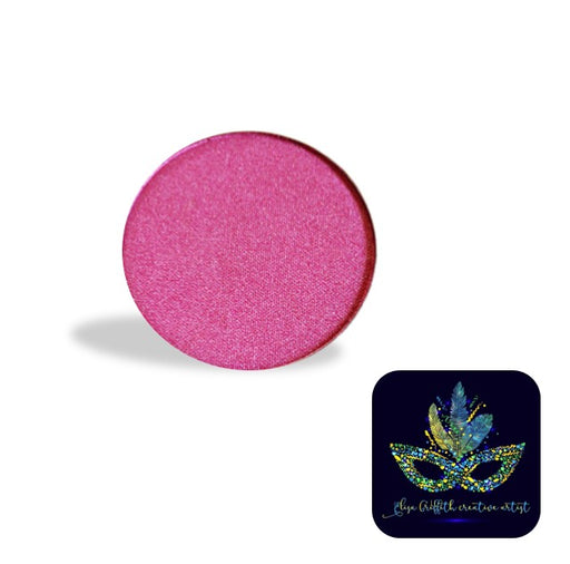 Color Me Pro Face Painting Powder by Elisa Griffith | Shimmer Flamingo Pink (3.5 gr)