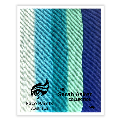 Face Paints Australia  - Combo Cake by Sarah Asker |  KINGFISHER 50gr