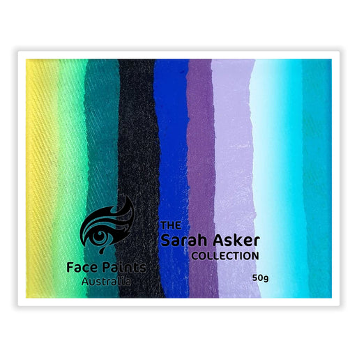 "Face Paints Australia - Combo ""Edging"" Cake by Sarah Asker 