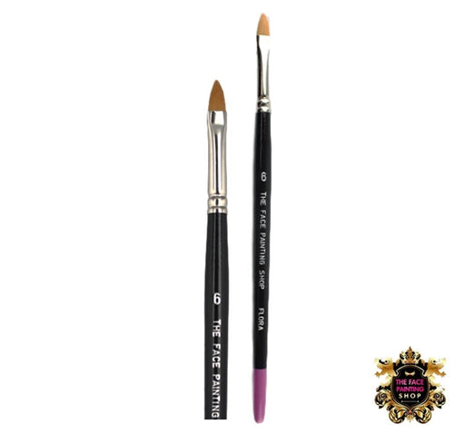 The Face Painting Shop Brush - Flat Pointy - Flora #6 - Jest Paint Store
