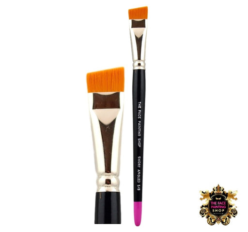 The Face Painting Shop Brush - 5/8 Short Angle - Jest Paint Store