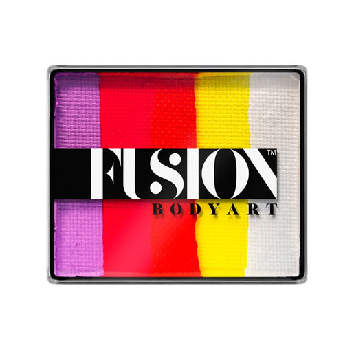 Fusion Body Art & FX - Rainbow Cake | Caribbean Sunset 50gr - Jest Paint Store