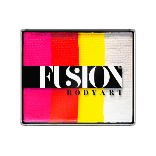Fusion Body Art & FX - Rainbow Cake | Tropical Tiger 50gr by Jest Paint - Jest Paint Store