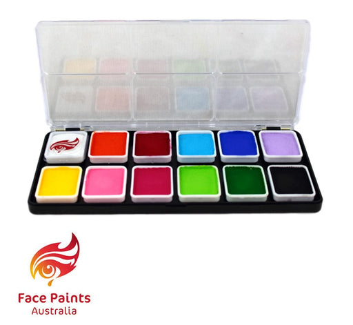 Face Paints Australia Face and Body Paint | Essential 12 Color Palette