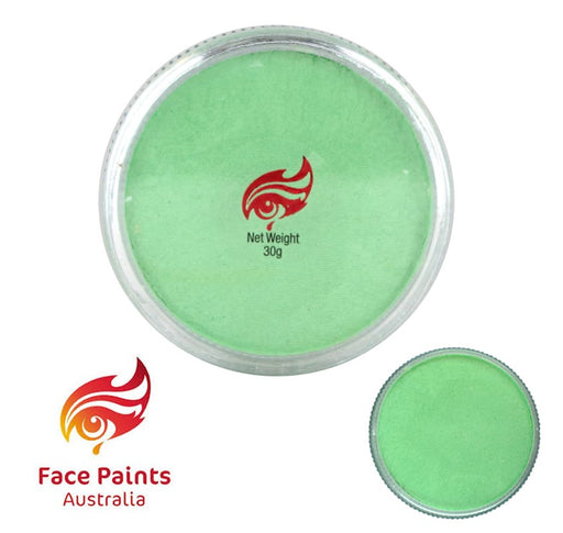 Face Paints Australia Face and Body Paint | Metallix Avocado (Pale Green) - 30gr