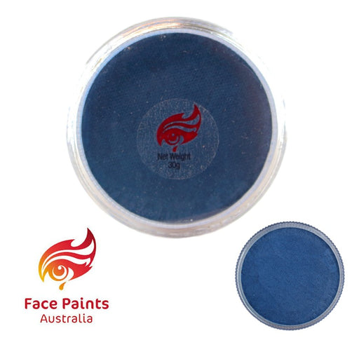 Face Paints Australia Face and Body Paint | Metallix Blue - 30gr