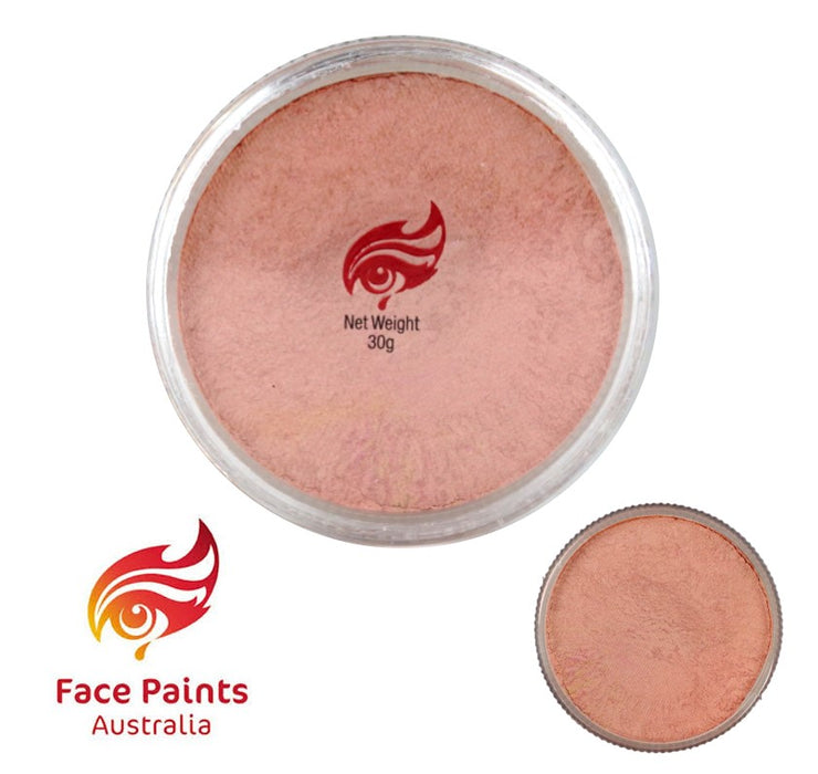 Face Paints Australia Face and Body Paint | Metallix Blush (Pink) - 30gr