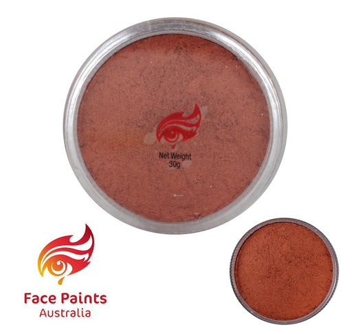 Face Paints Australia Face and Body Paint | Metallix Copper - 30gr