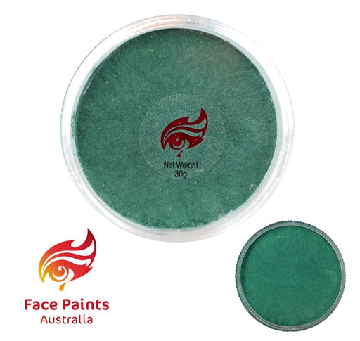 Face Paints Australia Face and Body Paint | Metallix Green Light - 30gr
