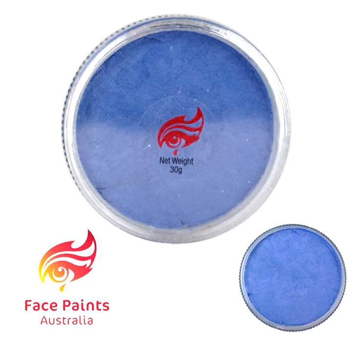 Face Paints Australia Face and Body Paint | Metallix Periwinkle - 30gr