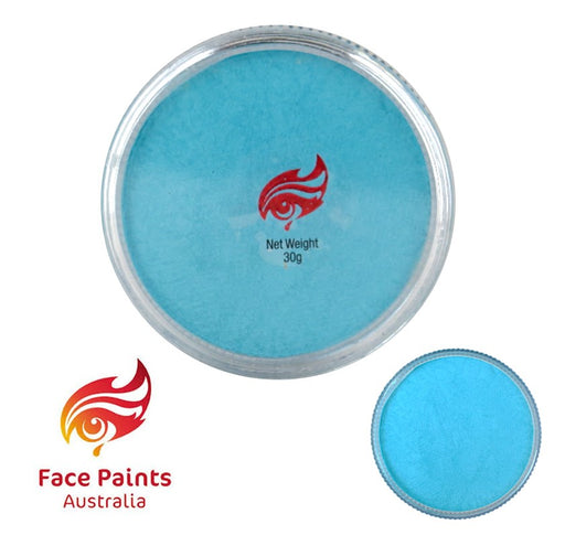 Face Paints Australia Face and Body Paint | Metallix Sky Blue - 30gr