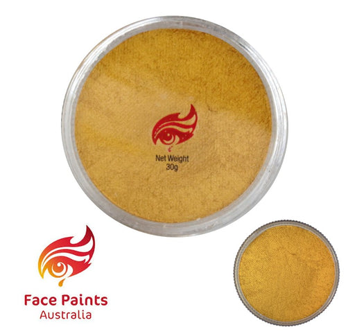 Face Paints Australia Face and Body Paint | Metallix Gold - 30gr