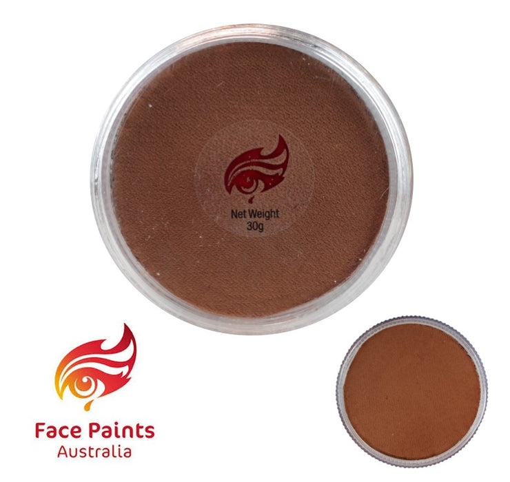 Face Paints Australia Face and Body Paint | Essential Brown (Cookie) - 30gr