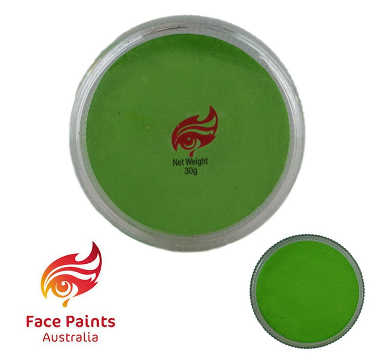 Face Paints Australia Face and Body Paint | Essential Green Lime - 30gr