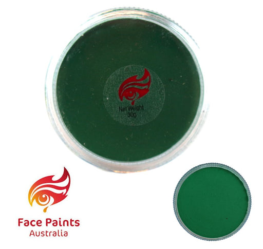 Face Paints Australia Face and Body Paint | Essential Green Mid - 30gr - Jest Paint Store
