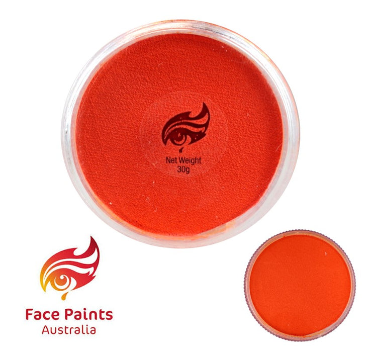 Face Paints Australia Face and Body Paint | Essential Orange - 30gr