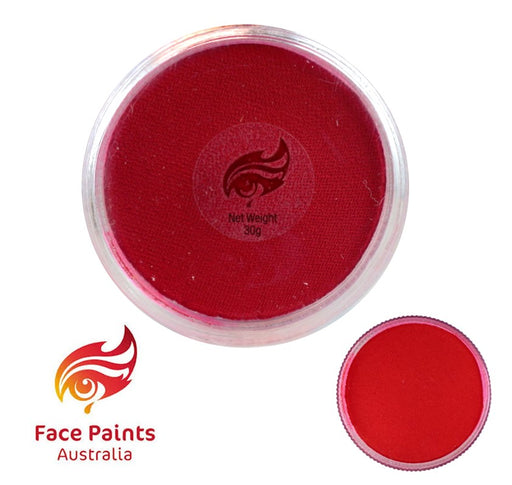 Face Paints Australia Face and Body Paint | Essential Red - 30gr - Jest Paint Store