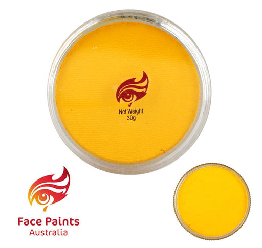 Face Paints Australia Face and Body Paint | Essential Yellow - 30gr - Jest Paint Store