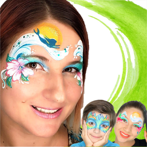 Face Painting Classes - Three Live Sessions - Jest Paint Store