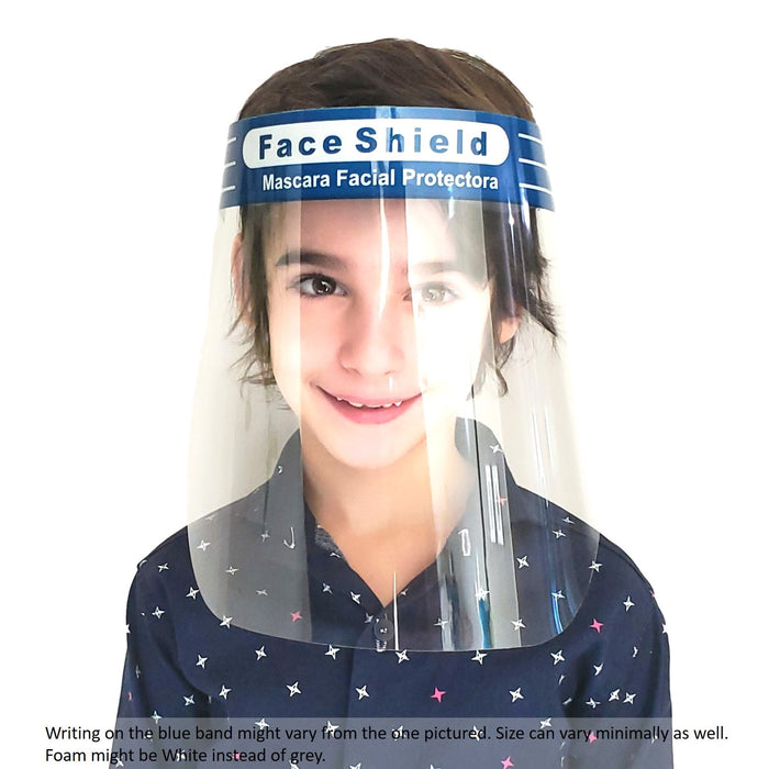 Face Painting Mask Shields - 5 Pack