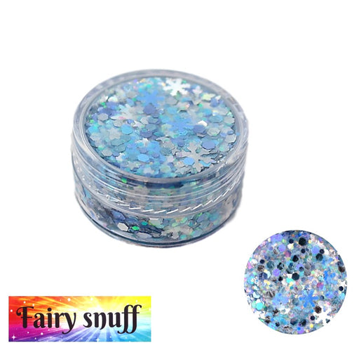 Fairy Snuff | Glitter Paste - Snow Angel 10gr