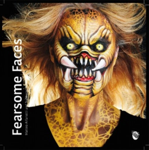 Superstar Face Painting Book | Fearsome Faces by Matteo Arfonotti - Jest Paint Store
