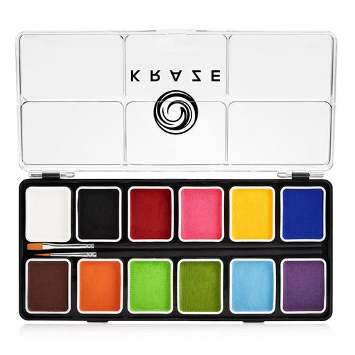Kraze FX Face and Body Paints | Fundamental 12 Color Palette