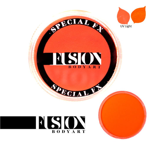 Fusion Body Art & FX - UV Neon Orange 32gr