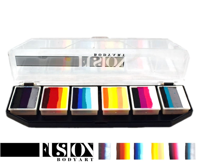 Fusion Body Art & FX - Spectrum Palette | Hero Power by Onalee Rivera - Jest Paint Store