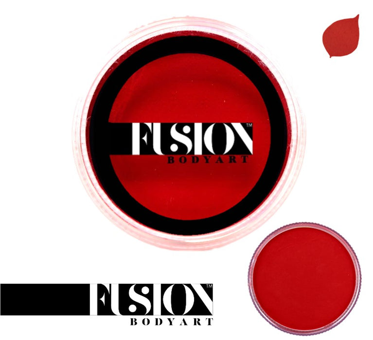 Fusion Body Art Face Paint - Prime Cardinal Red 32gr - Jest Paint Store