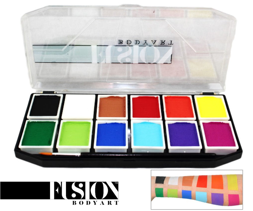 Fusion Body Art - Sampler Face Painting Palette