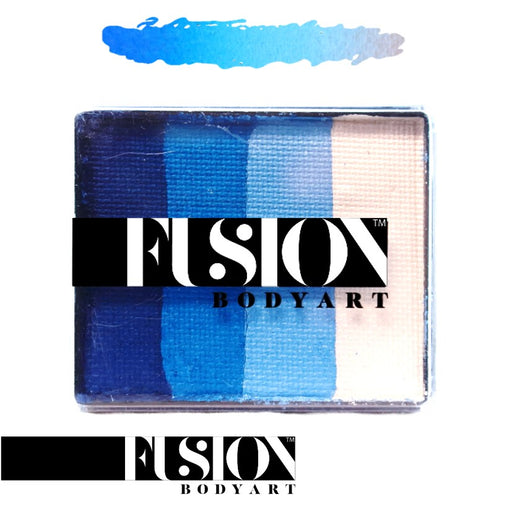 Fusion Body Art Face Paint - Rainbow Cake | Frozen Shimmer 50gr by Jest Paint