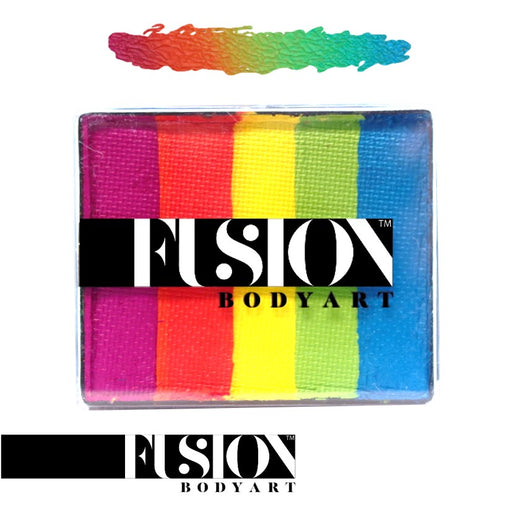 Fusion Body Art Face Paint - Rainbow Cake | Rainbow Joy 50gr by Jest Paint