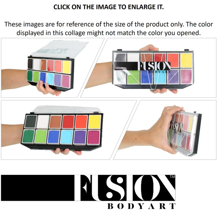Fusion Body Art - Sampler Face Painting Palette - Jest Paint Store