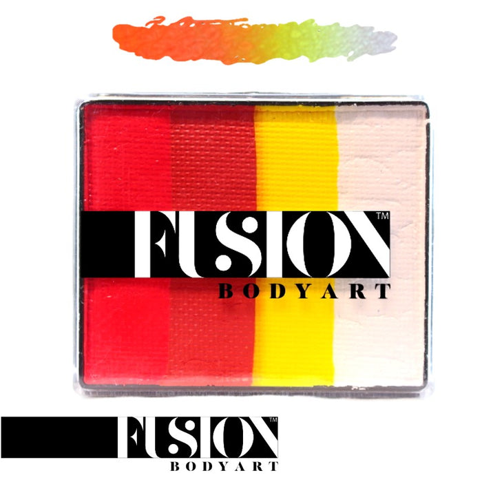 Fusion Body Art & FX - Rainbow Cake | Glowing Tiger 50gr by Jest Paint - Jest Paint Store